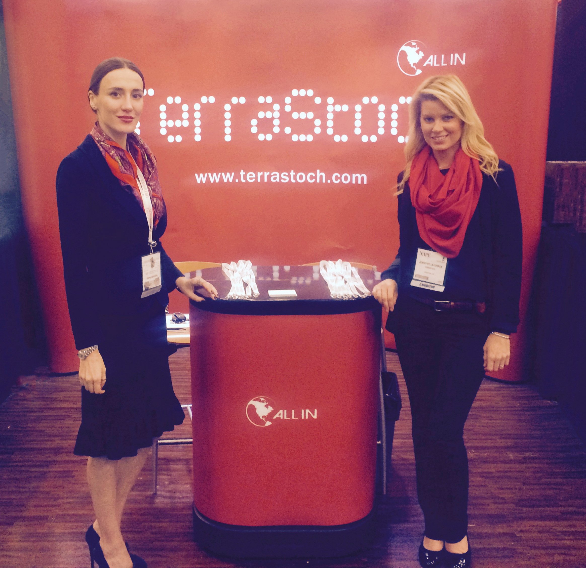 Terrastoch at NAPE Conference Houston TX